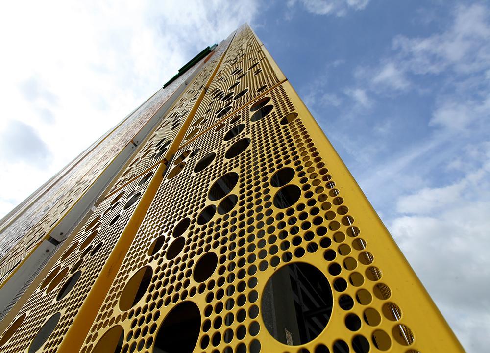 Exterior Facades - Dillinger Fabrik gelochter Bleche GmbH